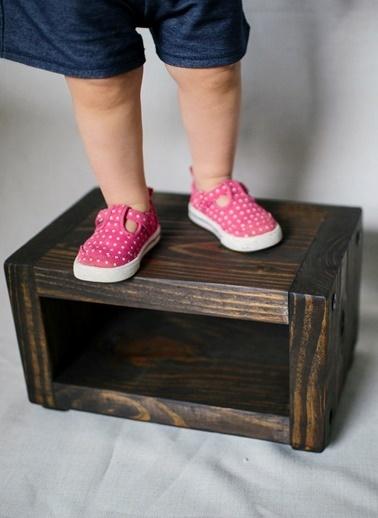 Ahşap Step Tabure-Oldwooddesign